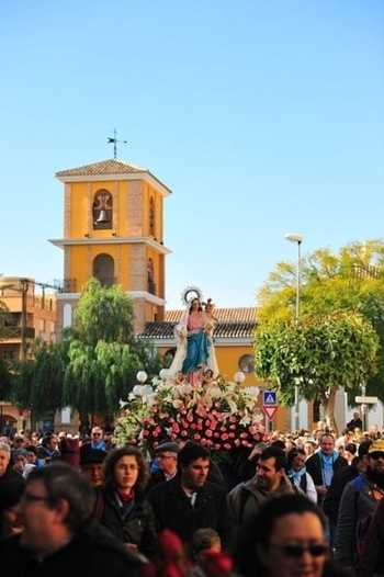 The parish church of La Concepción in Alhama de Murcia