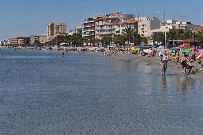 San Pedro del Pinatar beaches: Playa de Villananitos