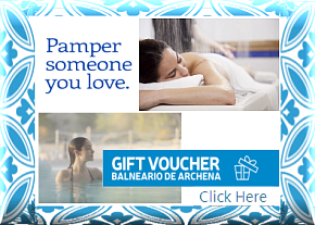 Balneario de Archena Gift Voucher