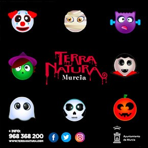 Terra Natura October Halloween Banner