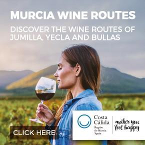 Murcia Turística Wine Whats on column banner